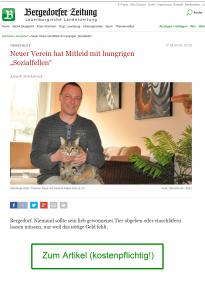 Artikel in der Bergedorfer Zeitung